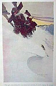 1906 N.c. Wyeth Snow Print
