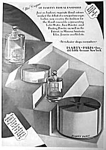 Stunning 1928 ART DECO Perfume Ad (Image1)
