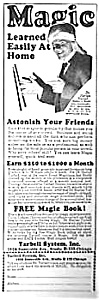 1928 LEARN MAGIC Ad Tarbell Systems (Image1)