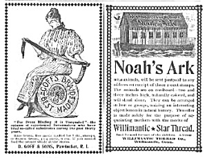 1895 SEWING THREAD Company Ads (Image1)