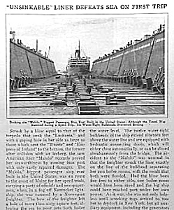1927 MALOLO Ocean Liner Mag Article (Image1)