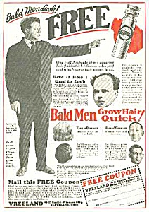 1929 Hair Restorer That Really Works Quack Ad