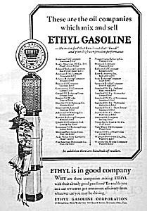 1928 ART DECO Flapper GAS PUMP Mag. Ad COOL! (Image1)