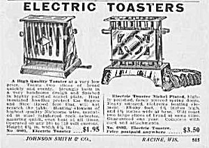 Nice 1929 ELECTRIC TOASTERS Ad (Image1)