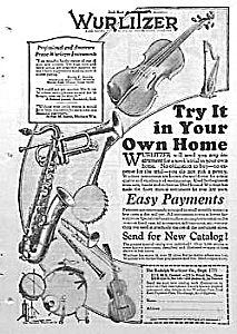 1923 Saxophone+ Music Room Ad L@@k