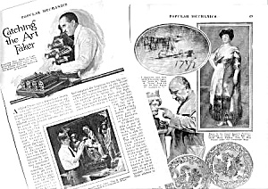 1926 CATCHING THE ART FAKER Magazine Article (Image1)