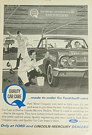 1964 JOHN FALTER Illustrated Mercury Print Ad - 1964 COMET (Image1)