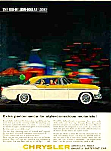 1955 CHRYSLER Color Auto Ad (Image1)