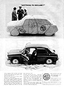 1964 MG SPORTS SEDAN Auto Ad (Image1)