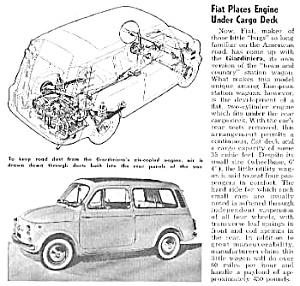 1961 FIAT GIARDINIERA Auto Mag Article (Image1)