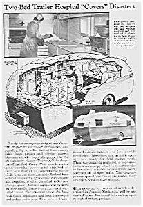 1938 TRAILER HOSPITAL Mag. Article (Image1)