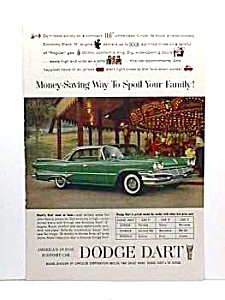 1960 DODGE DART Auto Ad - So Retro! (Image1)