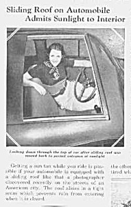 1937 First? SUNROOF in Auto Mag. Article (Image1)