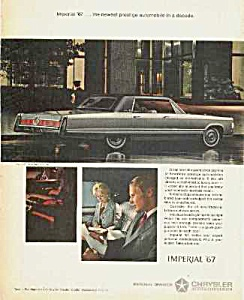 1967 CHRYSLER IMPERIAL Auto Ad (Image1)