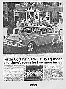 1967 FORD CORTINA Auto Ad (Image1)