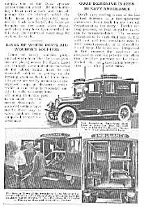1918 NAVY AMBULANCE Mag. Article (Image1)