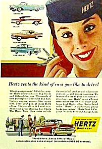 1957 CHEVY+ Other Models RENTAL Ad (Image1)