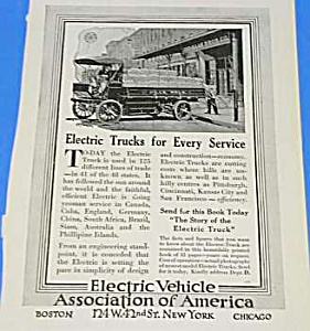 1913 ELECTRIC TRUCKS Ad (Image1)
