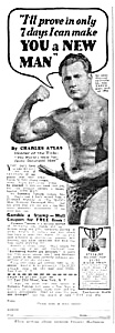 1939 CHARLES ATLAS� Muscle/Physique Ad (Image1)