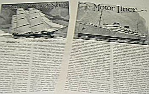 1926 Clipper - Ocean Liner - Leviathan Article