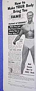 1939 CHARLES ATLAS® Muscle/Physique Ad (Image1)
