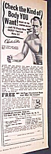 1957 CHARLES ATLAS� Muscle/Physique Ad (Image1)