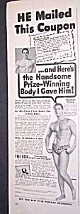 1949 CHARLES ATLAS� Muscle/Physique Ad (Image1)