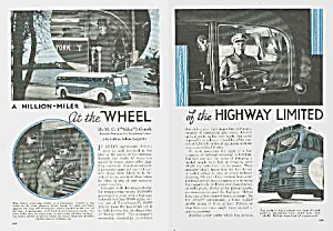 FAB 1939 GREYHOUND BUS TRIP Mag Article (Image1)