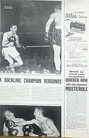 1952 Carmen Basilio Vs. Demarco - Welterweight Boxing