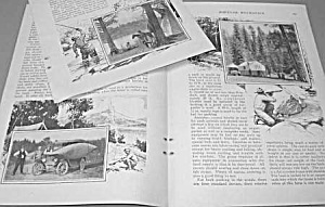 1927 TRICKS OF CAMPING OUT Magazine Article (Image1)