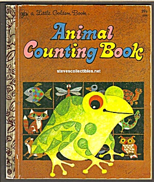 Animal Counting Book Little Golden Book