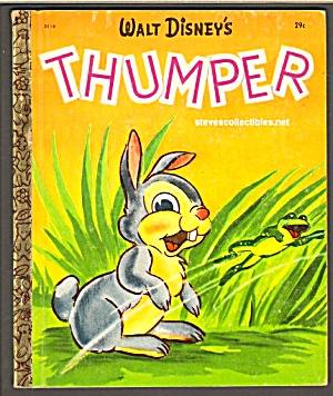 Disney THUMPER (Bambi) Little Golden Book (Image1)