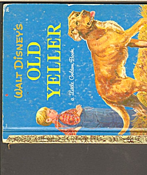 OLD YELLER  -  Disney - Little Golden Book - 1957 (Image1)