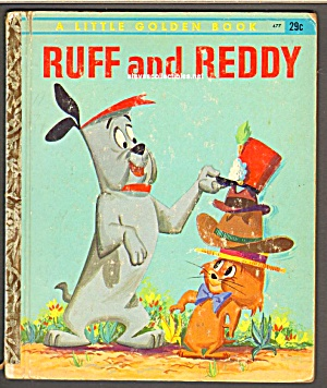 RUFF AND REDDY - Little Golden Book (Image1)