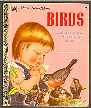 BIRDS Childs First Book -  Little Golden Book WILKIN (Image1)