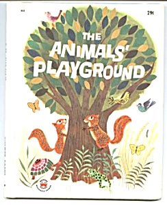 ANIMALS' PLAYGROUND Wonder Book #825 (Image1)