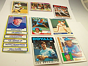 Lot of 1980s/1990s Collector Baseball-Basketball Cards (Image1)