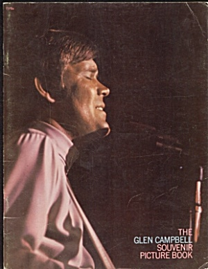 Fabulous 1970s GLEN CAMPBELL Souvenir Picture Book (Image1)