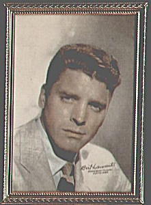 1940s BERT LANCASTER Framed Paramount Pictures Photo (Image1)