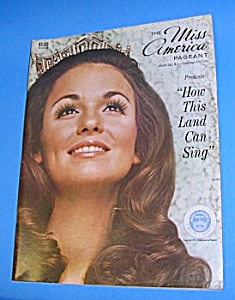 1971 MISS AMERICA PAGEANT PROGRAM/Phyl George (Image1)