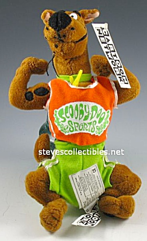 SCOOBY DOO SPORTS Plush Doll w/Tag (Image1)