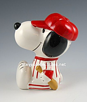 SNOOPY Beagle VINTAGE BANK Baseball Uniform (Image1)