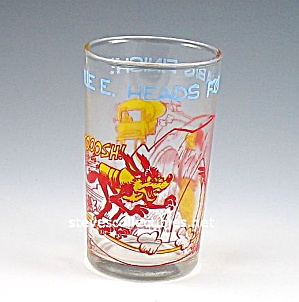 1974 WILE E. COYOTE-ROADRUNNER Welches Jelly Glass (Image1)