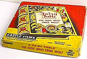1960s DOG WHO CRIED WOLF Cartoon Film/Box (Image1)