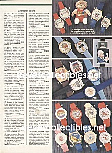 CHARACTER WATCHES-Garfield,Gremlins+Pages1984 Wish Book (Image1)