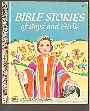 Bible Stories Of Boys And Girls Little Golden Bk