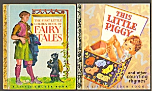 Lot Of 2: Lgb Book Of Fairy Tales/this Little Piggy