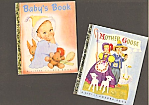 Lot Of 3 Lgb, Babys Book, Mother Goose, Hansel And Gretel