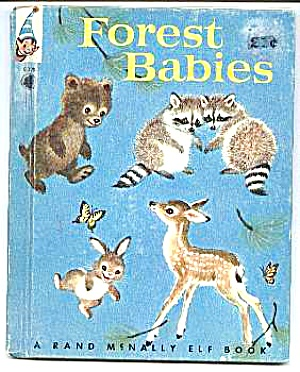 FOREST BABIES Elf Book #8328 - 1959 (Image1)