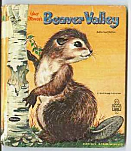 Walt Disney's BEAVER VALLEY Tell-A-Tale Bk (Image1)